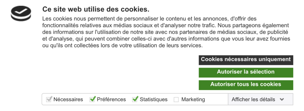 Screenshot 2020 07 03 at 17.42.39 | CookieBot : Installation via Google tag Manager et configuration