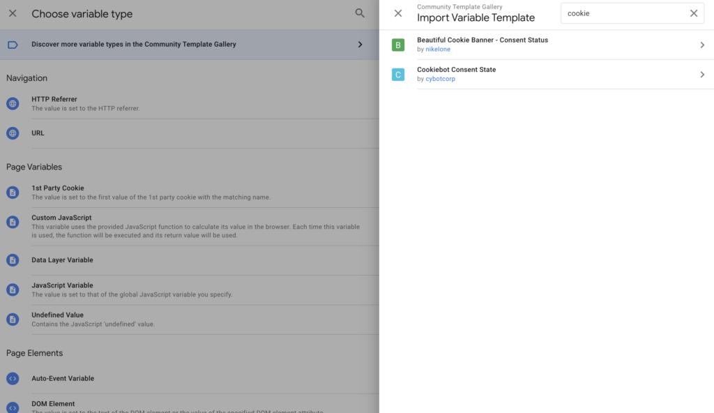 Screenshot 2020 07 03 at 17.52.23 | CookieBot : Installation via Google tag Manager et configuration