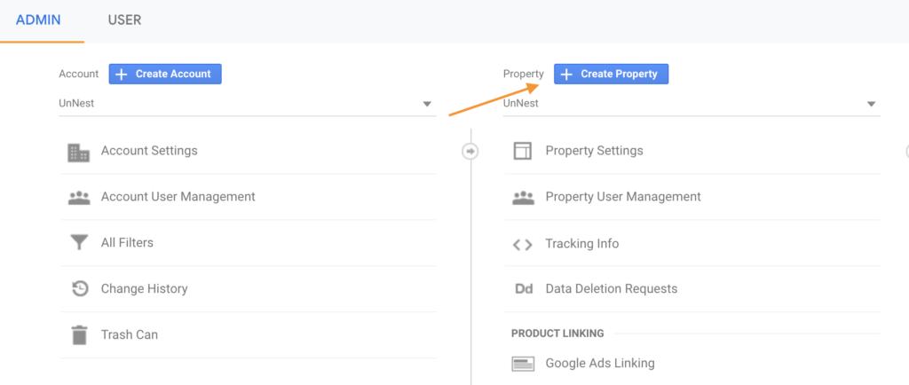 Screenshot 2020 07 09 at 13.35.18 | Google analytics App + Web (GA4) : Installation et Configuration