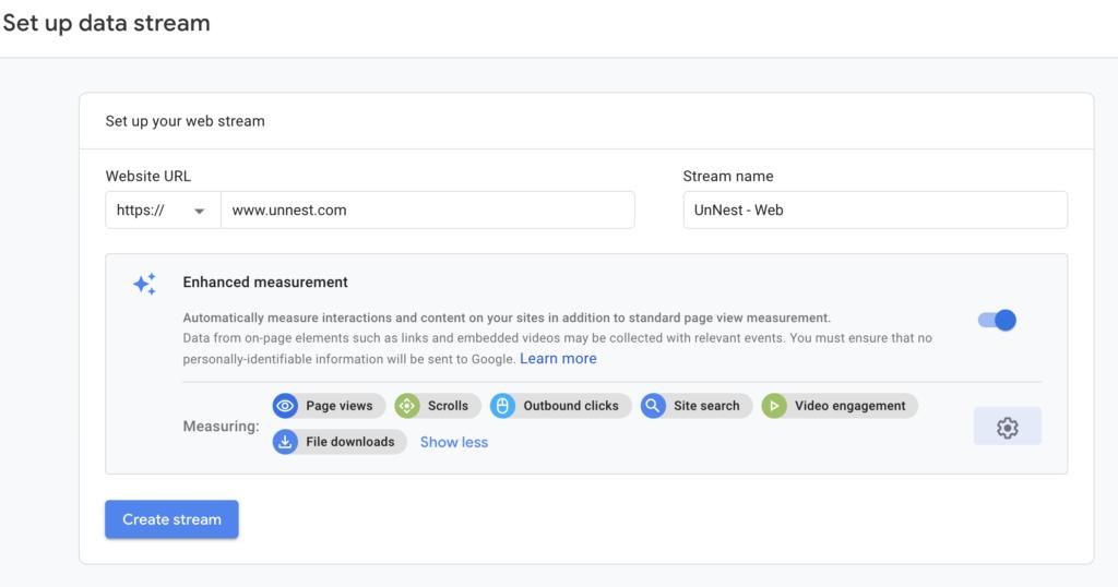 Screenshot 2020 07 09 at 13.52.47 | Google analytics App + Web (GA4) : Installation et Configuration