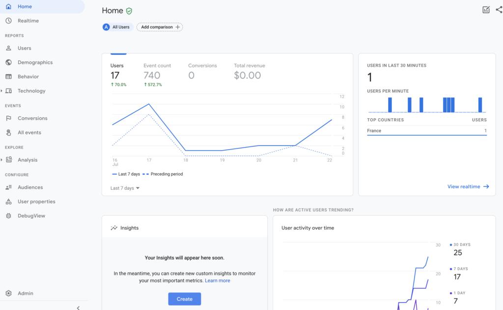 Screenshot 2020 07 23 at 15.27.31 | Google analytics App + Web (GA4) : Installation et Configuration