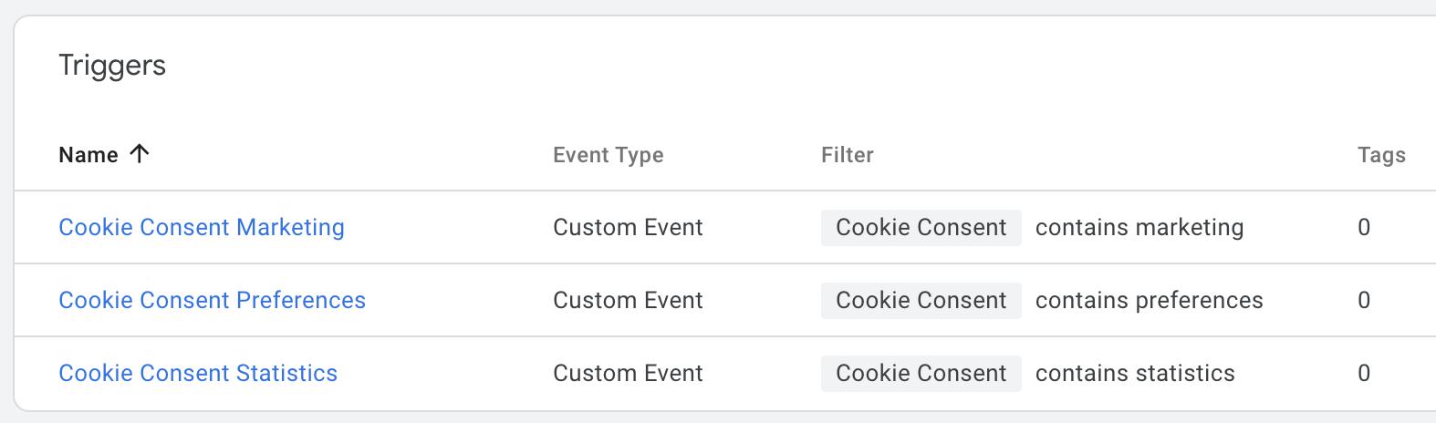 "Screenshot 2020 07 03 at 17.59.25 | Google ""consent mode"" : Installation de CookieBot avec le ""consent mode"" et GTM"