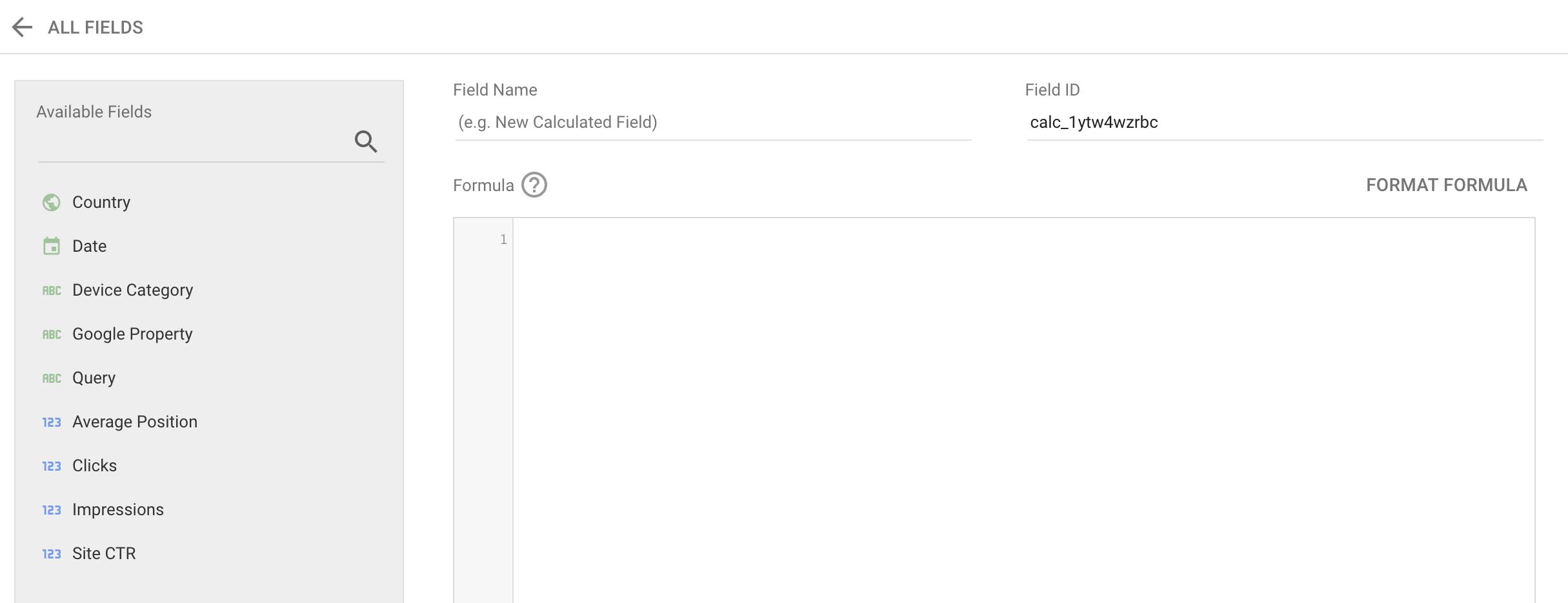 Screenshot 2020 08 27 at 17.23.43 | Champs calculés dans Data Studio (Calculated fields) : exemples et bonnes pratiques