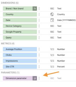 Screenshot 2020 08 28 at 14.55.51   Google Data Studio : créer un filtre permettant de changer de dimension