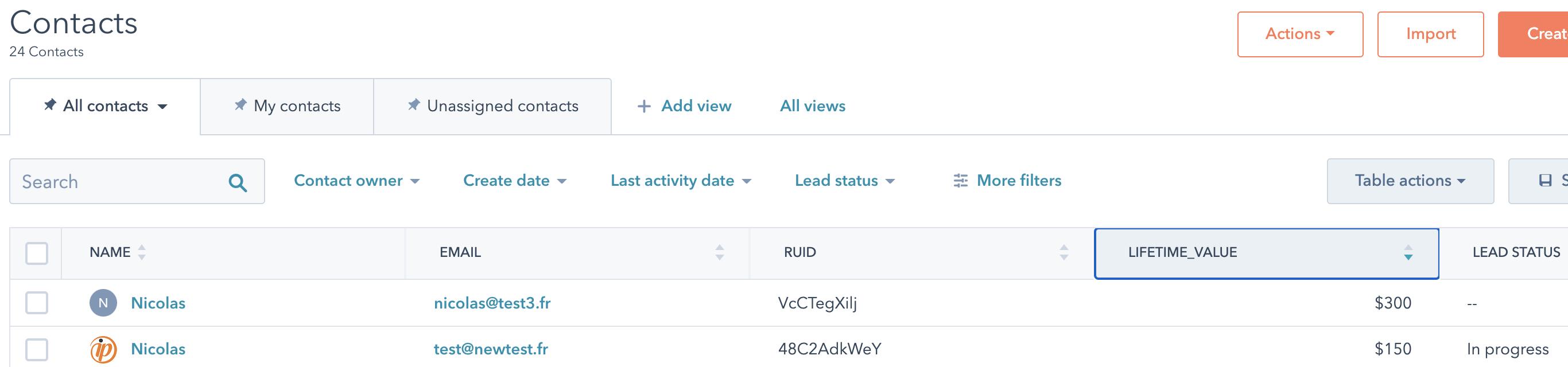 Screenshot 2020 09 10 at 17.40.50 | Importer ses données CRM dans Google Analytics