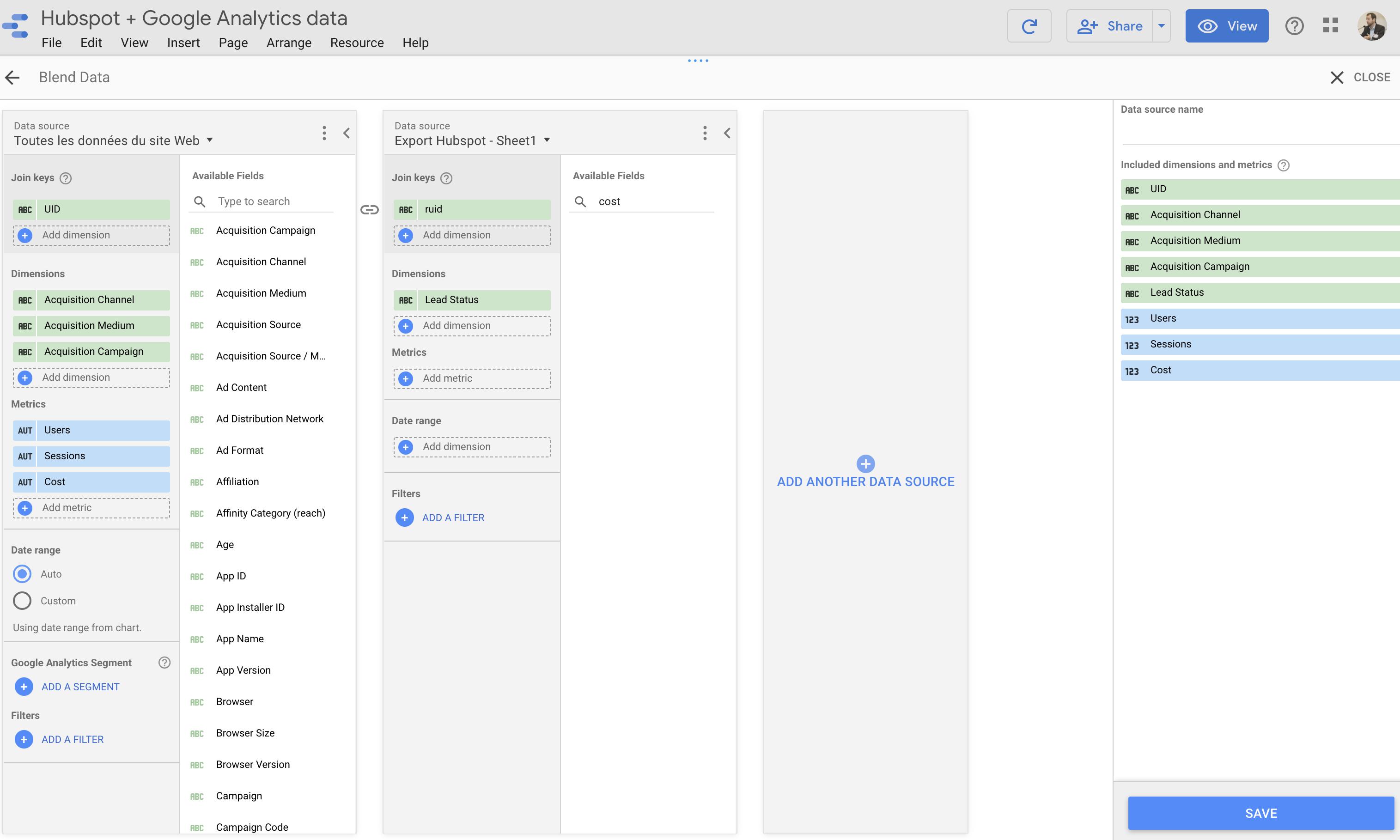 Screenshot 2020 09 11 at 15.11.57   Connecter Hubspot et Google Analytics : importer les conversions offline dans GA