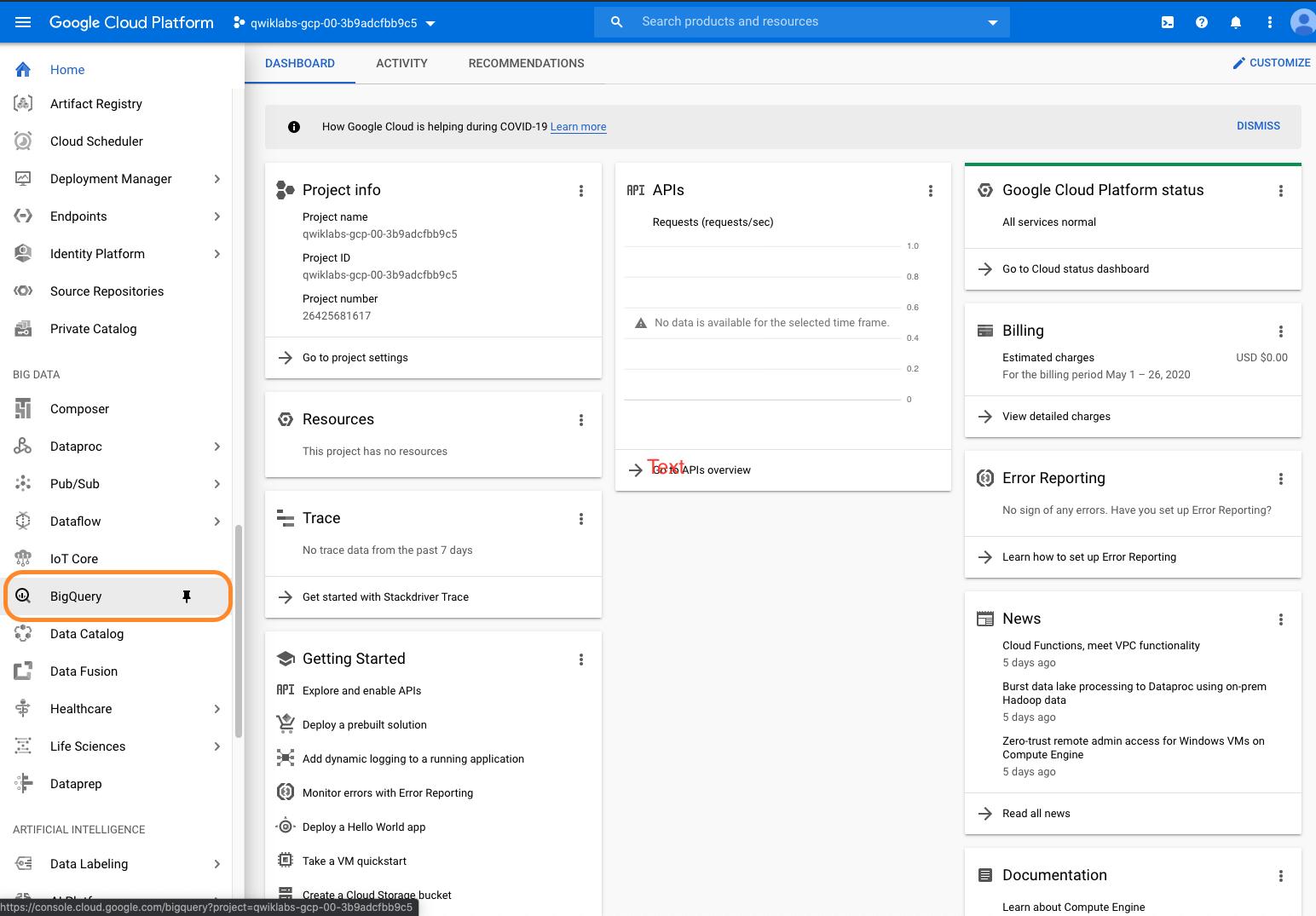 Screenshot 2020 05 26 at 13.06.20 | Google Big Query : présentation de l'interface web