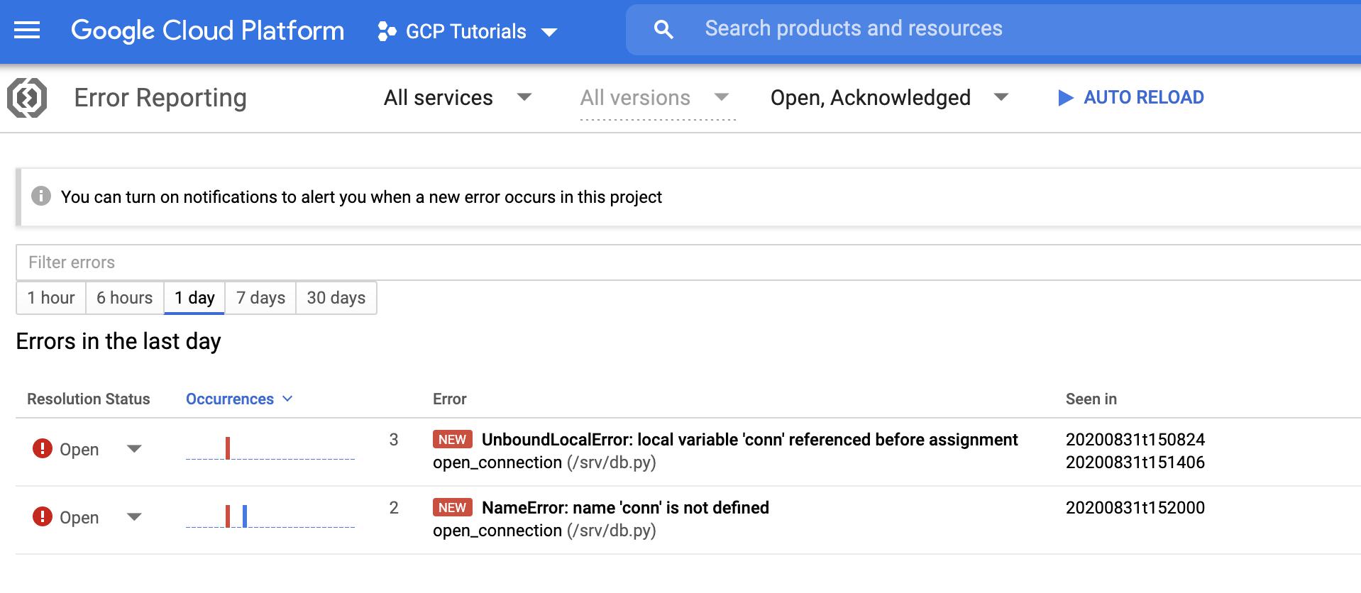 Screenshot 2020 09 01 at 09.31.38 | Tutoriel : déployer une application Python avec Google App Engine