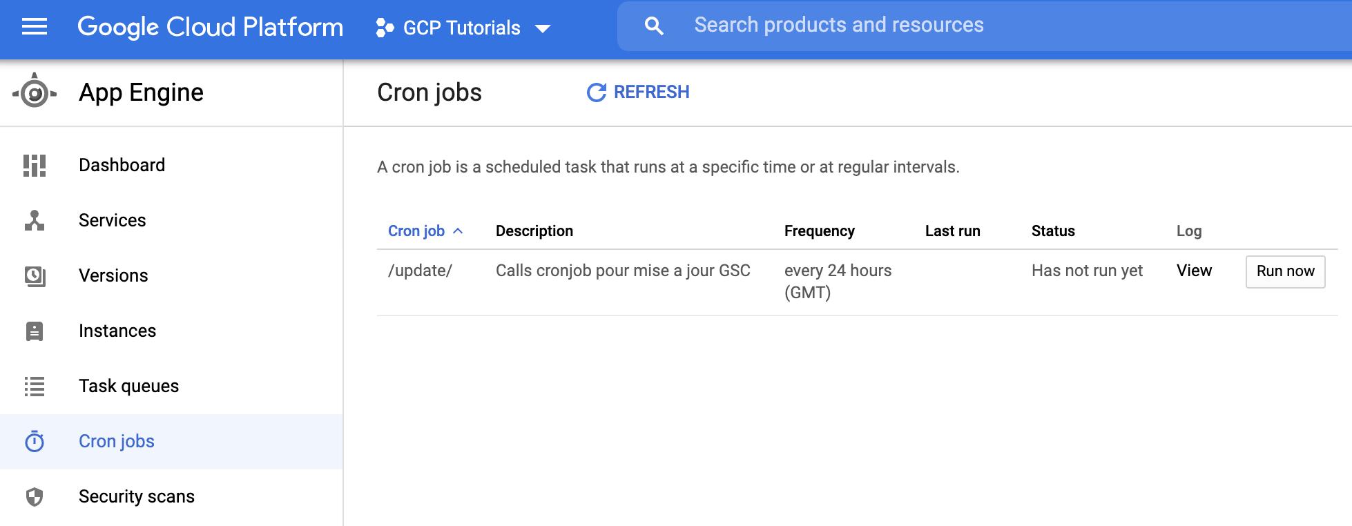 Screenshot 2020 09 01 at 09.35.24 | Tutoriel : déployer une application Python avec Google App Engine