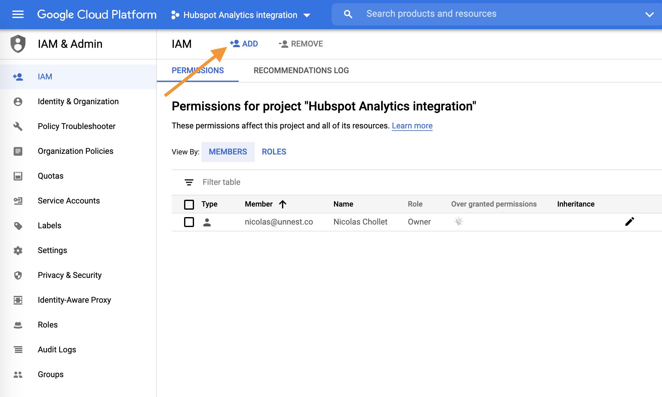 Screenshot 2020 09 23 at 17.46.35 | Tutoriel Fivetran : importer ses données dans Big Query