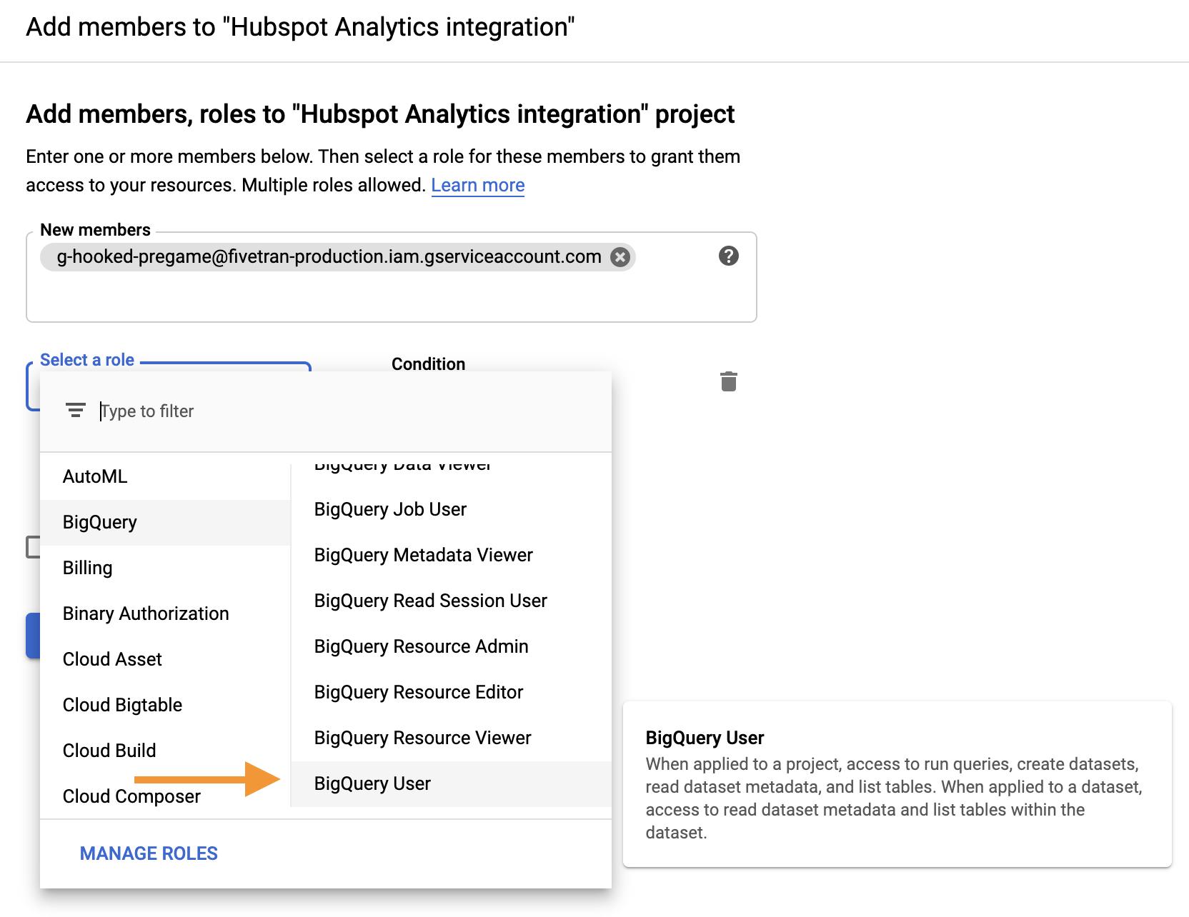 Screenshot 2020 09 23 at 17.48.53 | Tutoriel Fivetran : importer ses données dans Big Query