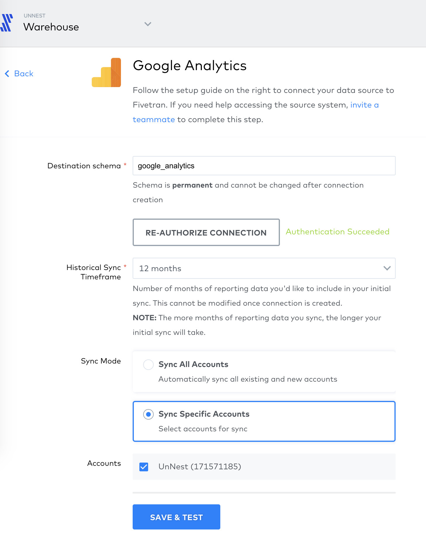 Screenshot 2020 09 23 at 18.04.11   Importer les données de Google Analytics vers BigQuery avec Fivetran