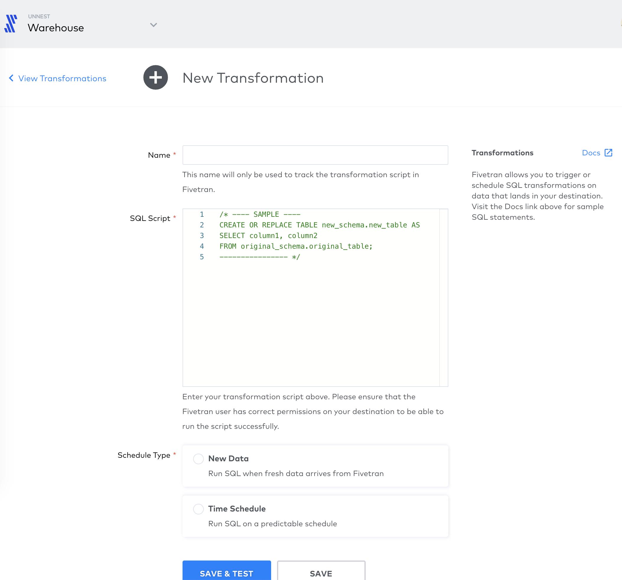 Screenshot 2020 10 06 at 14.54.35 | Tutoriel Fivetran : importer ses données dans Big Query