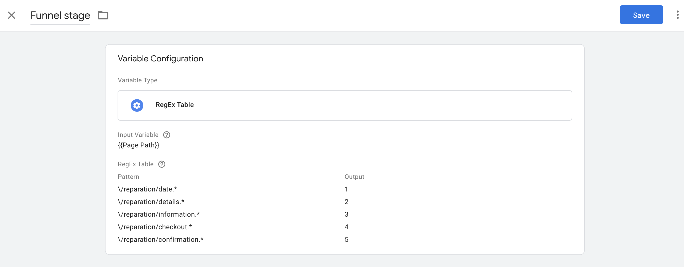 Screenshot 2020 11 09 at 16.16.47 | Custom metrics dans Google Analytics pour analyser un tunnel de conversion