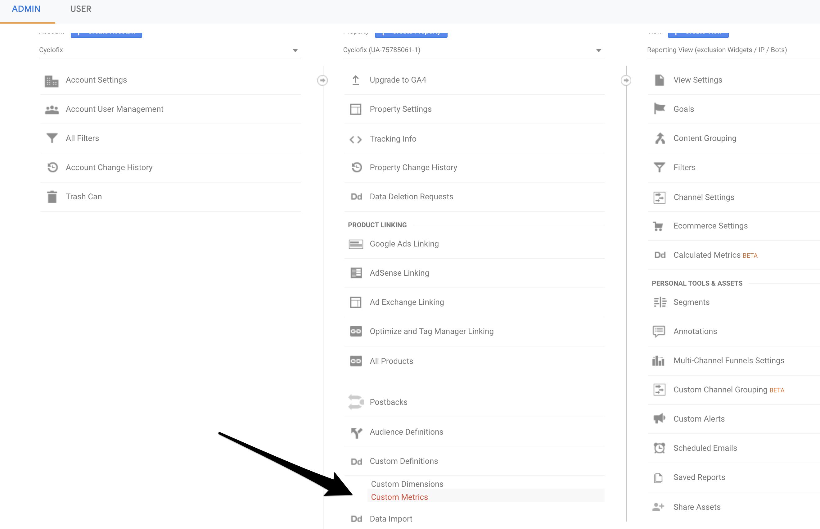 Untitled 1 1 | Custom metrics dans Google Analytics pour analyser un tunnel de conversion