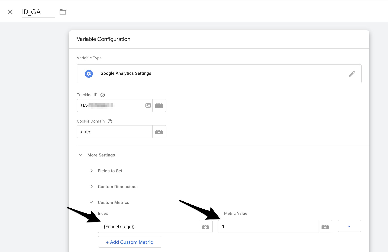 Untitled 3 1 | Custom metrics dans Google Analytics pour analyser un tunnel de conversion